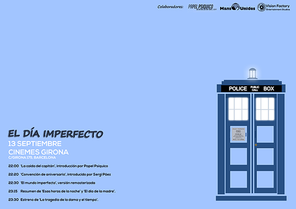 dr who - the imperfect day