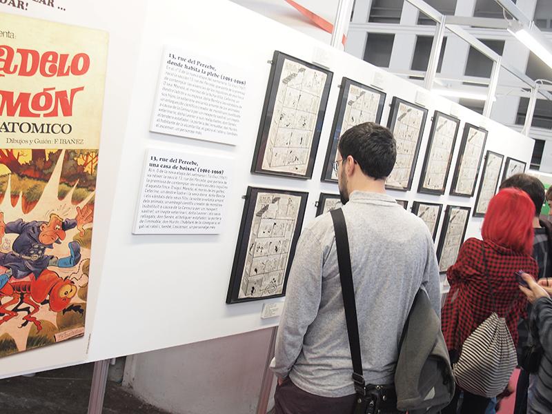 Exposición de Francisco Ibáñez